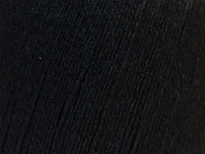 Fiber Content 50% Viscose, 50% Linen, Brand Ice Yarns, Black, Yarn Thickness 2 Fine  Sport, Baby, fnt2-27247