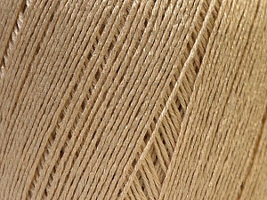 Fiber Content 50% Linen, 50% Viscose, Brand Ice Yarns, Dark Cream, Yarn Thickness 2 Fine  Sport, Baby, fnt2-27250