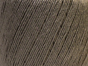Fiber Content 50% Linen, 50% Viscose, Brand Ice Yarns, Camel Brown, Yarn Thickness 2 Fine  Sport, Baby, fnt2-27252