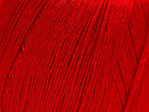 Fiber Content 50% Viscose, 50% Linen, Red, Brand ICE, Yarn Thickness 2 Fine  Sport, Baby, fnt2-27260