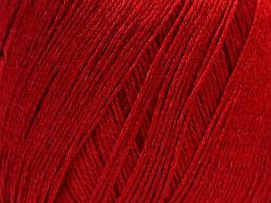 Fiber Content 50% Viscose, 50% Linen, Brand ICE, Dark Red, Yarn Thickness 2 Fine  Sport, Baby, fnt2-27261
