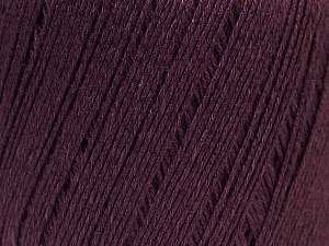 Fiber Content 50% Viscose, 50% Linen, Maroon, Brand Ice Yarns, Yarn Thickness 2 Fine  Sport, Baby, fnt2-27265