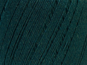 Fiber Content 50% Linen, 50% Viscose, Brand Ice Yarns, Dark Green, Yarn Thickness 2 Fine  Sport, Baby, fnt2-27269