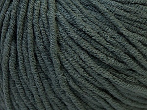 Fiber Content 50% Cotton, 50% Acrylic, Brand Ice Yarns, Dark Grey, Yarn Thickness 3 Light  DK, Light, Worsted, fnt2-27352