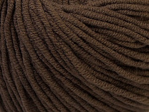 Fiber Content 50% Cotton, 50% Acrylic, Brand Ice Yarns, Brown, Yarn Thickness 3 Light  DK, Light, Worsted, fnt2-27355