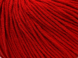 Fiber Content 50% Cotton, 50% Acrylic, Red, Brand Ice Yarns, Yarn Thickness 3 Light  DK, Light, Worsted, fnt2-27358
