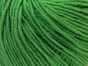 Fiber Content 50% Cotton, 50% Acrylic, Brand Ice Yarns, Green, Yarn Thickness 3 Light  DK, Light, Worsted, fnt2-27365