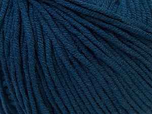 Fiber Content 50% Acrylic, 50% Cotton, Navy, Brand Ice Yarns, Yarn Thickness 3 Light  DK, Light, Worsted, fnt2-27368
