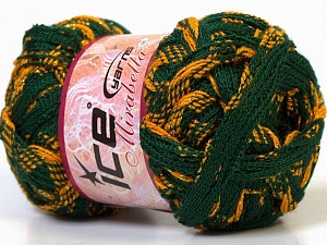 İçerik 97% Akrilik, 3% Simli, Yellow, Brand Ice Yarns, Green, Gold, Yarn Thickness 6 SuperBulky Bulky, Roving, fnt2-27375