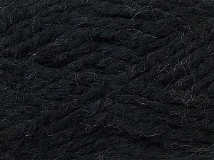 SuperBulky  Fiber Content 60% Acrylic, 30% Alpaca, 10% Wool, Brand Ice Yarns, Black, Yarn Thickness 6 SuperBulky  Bulky, Roving, fnt2-30823