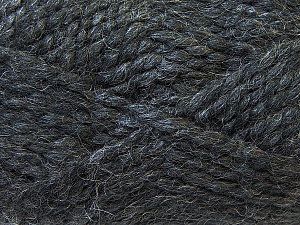 SuperBulky  Fiber Content 60% Acrylic, 30% Alpaca, 10% Wool, Brand Ice Yarns, Dark Grey, Yarn Thickness 6 SuperBulky  Bulky, Roving, fnt2-30824