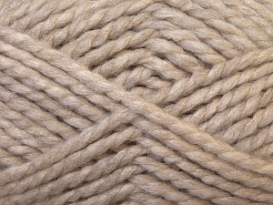 SuperBulky  Fiber Content 60% Acrylic, 30% Alpaca, 10% Wool, Brand Ice Yarns, Beige, Yarn Thickness 6 SuperBulky  Bulky, Roving, fnt2-30827