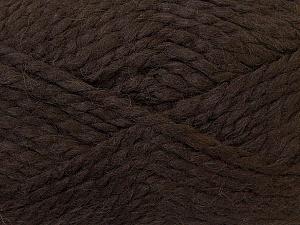 SuperBulky  Fiber Content 60% Acrylic, 30% Alpaca, 10% Wool, Brand Ice Yarns, Brown, Yarn Thickness 6 SuperBulky  Bulky, Roving, fnt2-30830