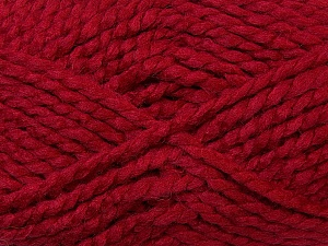 SuperBulky  Fiber Content 60% Acrylic, 30% Alpaca, 10% Wool, Brand Ice Yarns, Burgundy, Yarn Thickness 6 SuperBulky  Bulky, Roving, fnt2-30832