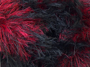 Fiber Content 100% Polyamide, Red, Brand Ice Yarns, Black, Yarn Thickness 5 Bulky  Chunky, Craft, Rug, fnt2-30841