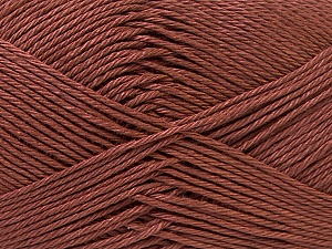 Fiber Content 100% Mercerised Cotton, Brand Ice Yarns, Brown, Yarn Thickness 2 Fine  Sport, Baby, fnt2-32538