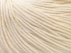 Fiber Content 60% Cotton, 40% Acrylic, Brand Ice Yarns, Ecru, Yarn Thickness 2 Fine  Sport, Baby, fnt2-32557