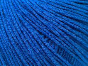 Fiber Content 60% Cotton, 40% Acrylic, Brand Ice Yarns, Dark Blue, Yarn Thickness 2 Fine  Sport, Baby, fnt2-32561