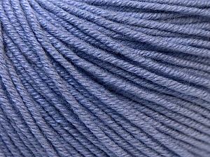 Fiber Content 60% Cotton, 40% Acrylic, Lilac, Brand Ice Yarns, Yarn Thickness 2 Fine  Sport, Baby, fnt2-32562