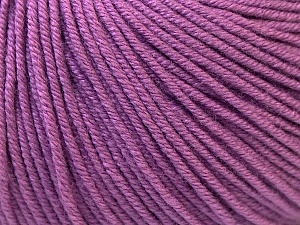 Fiber Content 60% Cotton, 40% Acrylic, Lavender, Brand Ice Yarns, Yarn Thickness 2 Fine  Sport, Baby, fnt2-32564