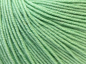 Fiber Content 60% Cotton, 40% Acrylic, Mint Green, Brand Ice Yarns, Yarn Thickness 2 Fine  Sport, Baby, fnt2-32566