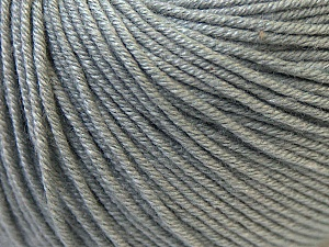Fiber Content 60% Cotton, 40% Acrylic, Brand Ice Yarns, Grey, Yarn Thickness 2 Fine  Sport, Baby, fnt2-32621