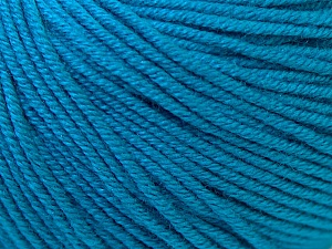Fiber Content 60% Cotton, 40% Acrylic, Brand Ice Yarns, Blue, Yarn Thickness 2 Fine  Sport, Baby, fnt2-32624