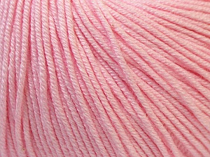 Fiber Content 60% Cotton, 40% Acrylic, Brand Ice Yarns, Baby Pink, Yarn Thickness 2 Fine  Sport, Baby, fnt2-32821
