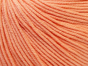 Fiber Content 60% Cotton, 40% Acrylic, Light Salmon, Brand Ice Yarns, Yarn Thickness 2 Fine  Sport, Baby, fnt2-32823