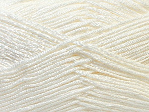 Fiber Content 100% Antibacterial Dralon, Off White, Brand Ice Yarns, Yarn Thickness 2 Fine  Sport, Baby, fnt2-32829
