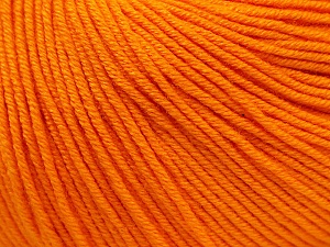 Fiber Content 60% Cotton, 40% Acrylic, Light Orange, Brand Ice Yarns, Yarn Thickness 2 Fine  Sport, Baby, fnt2-32880