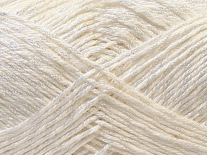 Fiber Content 50% Polyester, 50% Cotton, White, Brand Ice Yarns, Yarn Thickness 2 Fine  Sport, Baby, fnt2-33040