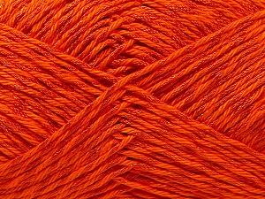 Fiber Content 50% Polyester, 50% Cotton, Orange, Brand Ice Yarns, Yarn Thickness 2 Fine  Sport, Baby, fnt2-33045