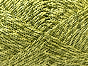 Fiber Content 50% Cotton, 50% Polyester, Brand Ice Yarns, Green, Yarn Thickness 2 Fine  Sport, Baby, fnt2-33050