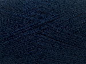Fiber Content 100% Baby Acrylic, Navy, Brand Ice Yarns, Yarn Thickness 2 Fine  Sport, Baby, fnt2-33133