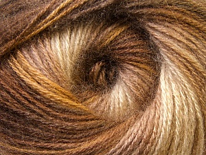 Fiber Content 75% Acrylic, 25% Angora, Brand Ice Yarns, Brown Shades, Yarn Thickness 2 Fine  Sport, Baby, fnt2-33234