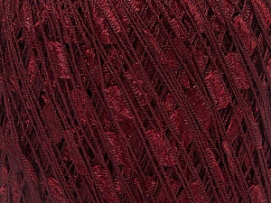 Trellis  Fiber Content 100% Polyester, Brand Ice Yarns, Dark Burgundy, Yarn Thickness 5 Bulky  Chunky, Craft, Rug, fnt2-34121