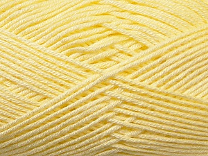 Fiber Content 100% Antibacterial Dralon, Brand Ice Yarns, Baby Yellow, Yarn Thickness 2 Fine  Sport, Baby, fnt2-34587