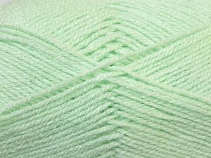Fiber Content 100% Baby Acrylic, Brand Ice Yarns, Baby Green, Yarn Thickness 2 Fine  Sport, Baby, fnt2-34944