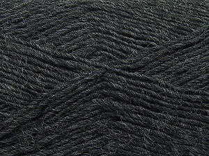 Fiber Content 50% Acrylic, 50% Wool, Brand Ice Yarns, Dark Grey, Yarn Thickness 3 Light  DK, Light, Worsted, fnt2-35021