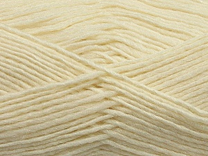 Fiber Content 50% Acrylic, 50% Wool, Brand Ice Yarns, Cream, Yarn Thickness 3 Light  DK, Light, Worsted, fnt2-35022