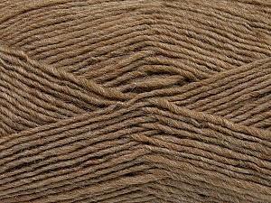 Fiber Content 50% Acrylic, 50% Wool, Brand Ice Yarns, Camel, Yarn Thickness 3 Light  DK, Light, Worsted, fnt2-35024