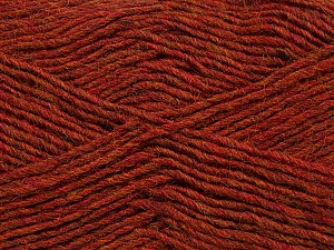Fiber Content 50% Acrylic, 50% Wool, Brand Ice Yarns, Copper Melange, Yarn Thickness 3 Light  DK, Light, Worsted, fnt2-35026