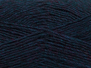 Fiber Content 50% Wool, 50% Acrylic, Navy Melange, Brand Ice Yarns, Yarn Thickness 3 Light  DK, Light, Worsted, fnt2-35028