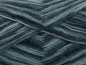 Fiber Content 70% Angora, 30% Acrylic, Brand Ice Yarns, Grey Shades, Black, Yarn Thickness 2 Fine Sport, Baby, fnt2-35073