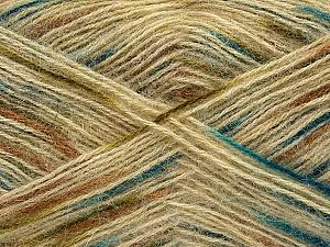 Fiber Content 70% Angora, 30% Acrylic, Brand Ice Yarns, Brown, Blue, Beige, Yarn Thickness 2 Fine Sport, Baby, fnt2-35087