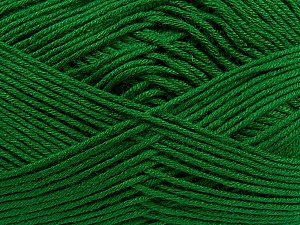 Fiber Content 100% Antibacterial Dralon, Brand Ice Yarns, Green, Yarn Thickness 2 Fine  Sport, Baby, fnt2-35245