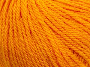 Fiber Content 100% Wool, Brand Ice Yarns, Dark Yellow, Yarn Thickness 4 Medium  Worsted, Afghan, Aran, fnt2-38003