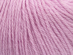 Fiber Content 100% Wool, Light Lilac, Brand Ice Yarns, Yarn Thickness 4 Medium  Worsted, Afghan, Aran, fnt2-38009