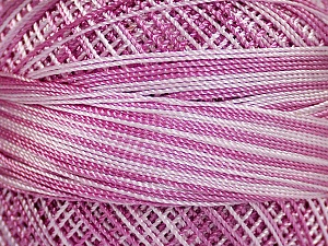 Fiber Content 100% Micro Fiber, Purple Shades, Light Lilac, Brand Ice Yarns, Yarn Thickness 0 Lace  Fingering Crochet Thread, fnt2-40209